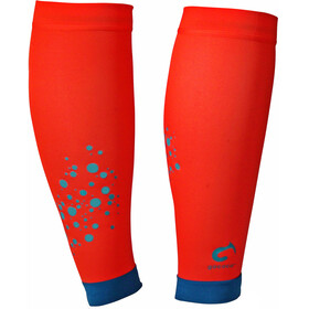 Gococo Compression Calf Sleeve Superior Socks Orange/Petroleum